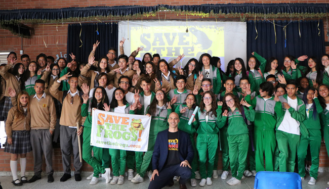 Save The Frogs Day Colombia 2019